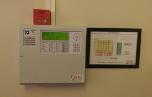 Sutton Coldfield Baptist Church Fire Alarm Panel